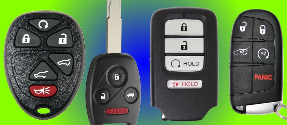 Key Fobs, transponder chips, cars, key